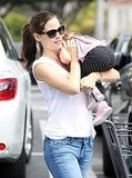 Jennifer Garner and Seraphina Let the Good Times Roll!