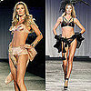 Gisele Bundchen in Lingerie For Runway Show