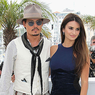 Penelope Cruz and Johnny Depp at 2011 Cannes Film Festival Pictures