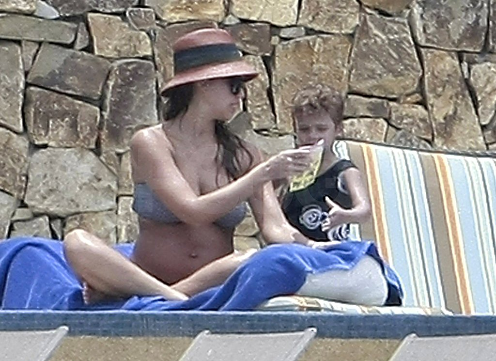 Jessica Alba Has More Pregnant Bikini Time Basking in Cabo