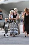 Gwen Stefani Breaks Out Another Bikini and Then Grabs Gelato With Kingston and Zuma