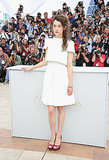 Astrid Berges-Frisbey in Chanel couture