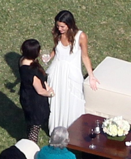 See Pictures of Lily Aldridge and Caleb Followill's Malibu Wedding Reception!