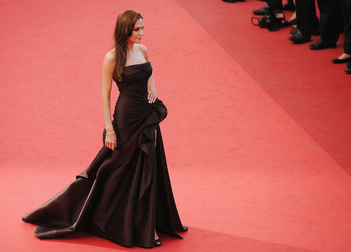Pictures of celebrities at Tree of Life Premiere at Cannes Film Festival 2011 including Angelina Jolie, Brad Pitt and more!