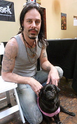 Hard Rockers Show Soft Side for Canines