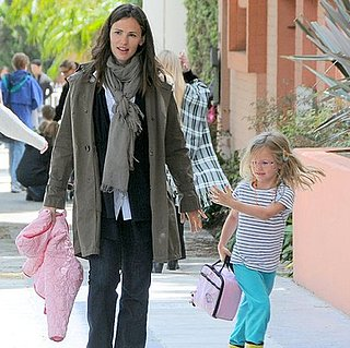 Jennifer Garner and Violet Affleck in Santa Monica