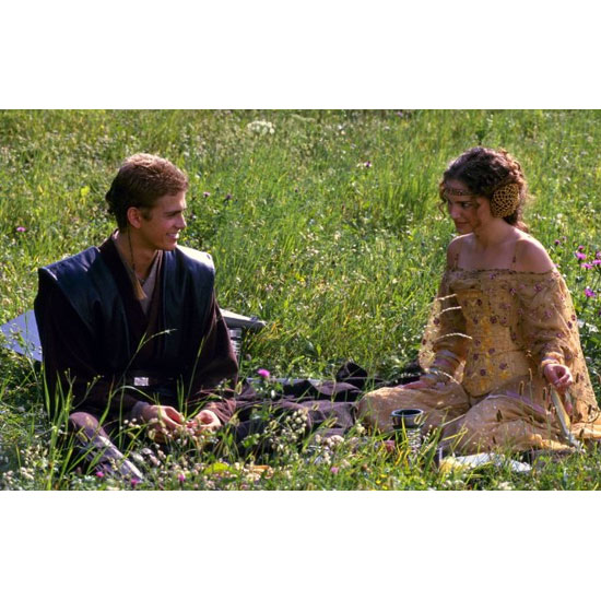 Padm Amidala and Anakin Skywalker  Star Wars: Episode II  Attack of the Clones
