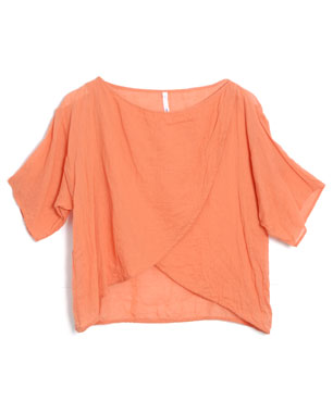 Bodkin Organic Cotton Gauze Loose Tulip Top ($250)