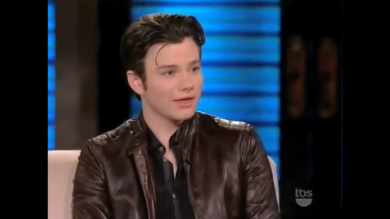 "Chris Colfer Talks ""Oprah: The Musical"" on Lopez Tonight"