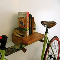 Urban Bike Shelf For Small NYC Apartments