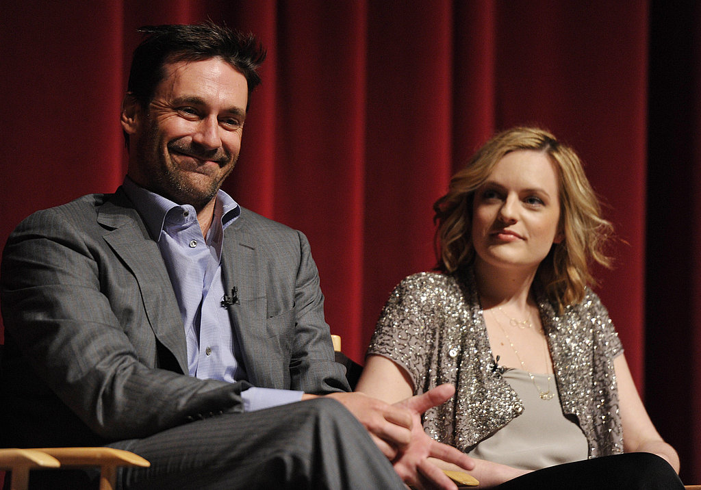 Jon Hamm, Elisabeth Moss, and Young Costar Kiernan Shipka Take the Stage For Mad Men