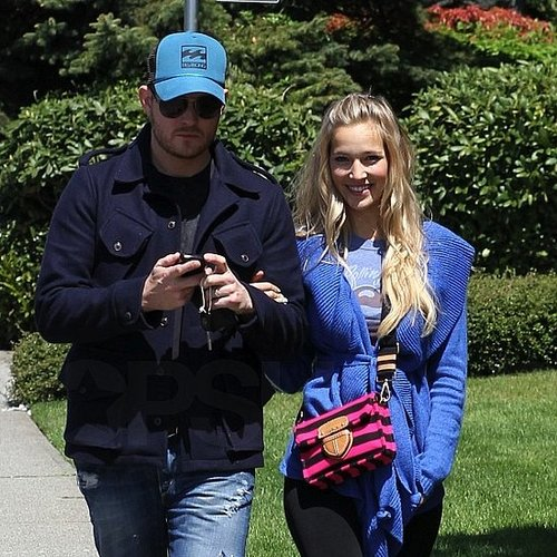Michael Buble Pictures With Wife Luisana Lopilato
