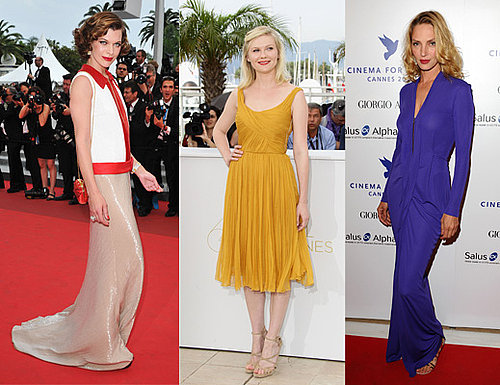 Pictures red carpet round up from 2011 Cannes Film Festival including Kirsten Dunst, Karolina Kurkova and more