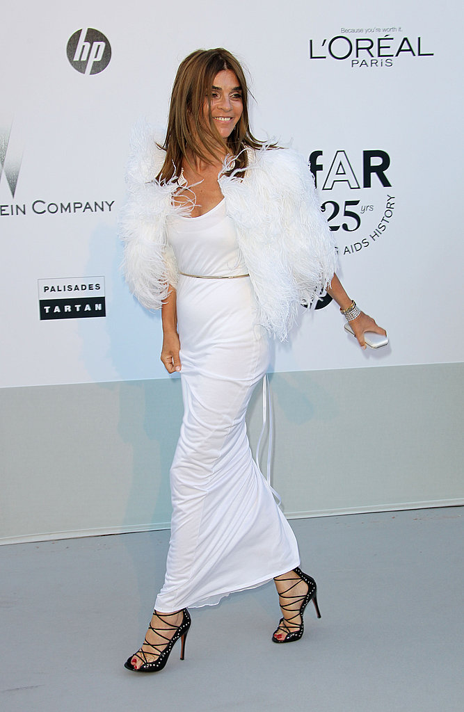 Carine Roitfeld in Givenchy couture