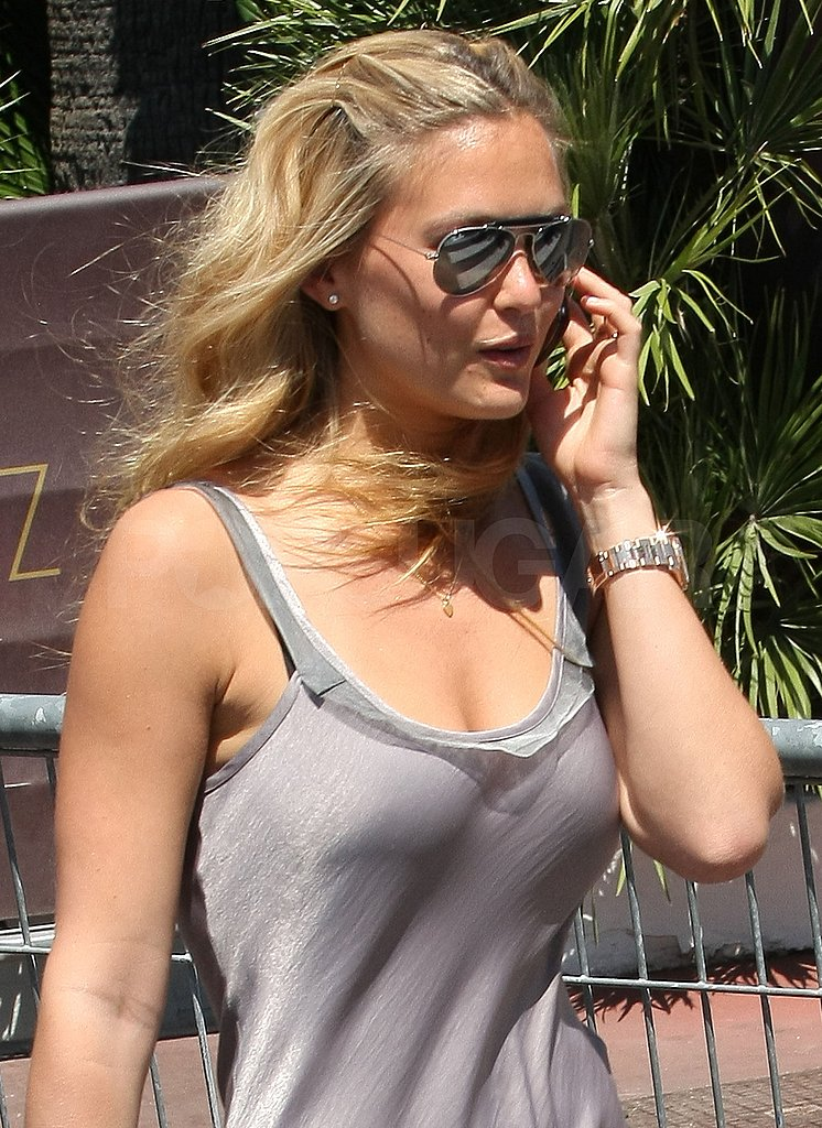Bar Refaeli Shows Off Her Hot Bikini Body In Between the Glitz and Glam of Cannes