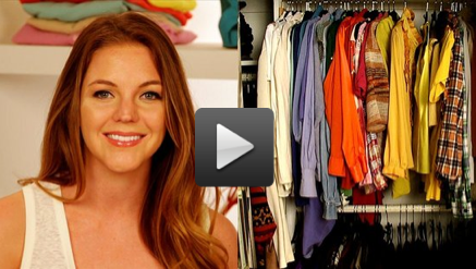Let FabTV help you organize your closet.