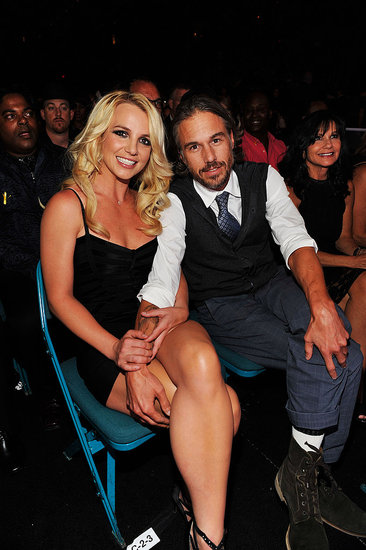 Britney Spears Has Jason Trawick's Support Backstage at the Billboard Awards