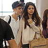 Pictures of Justin Bieber and Selena Gomez Holding Hands