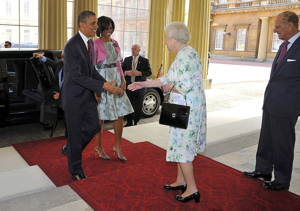 William and Kate Meet the Obamas