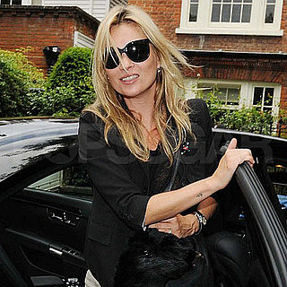 Pictures of Kate Moss Leaving Her London Home
