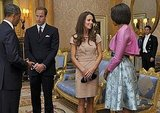 Kate Middleton and Michelle Obama Share a Fashionable Moment