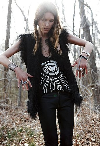 Lookbook Photos of Erin Wasson and Zadig & Voltaire Collaboration, Erin Meets Zadig