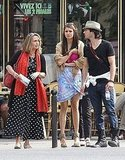 Vampire Diaries Duo Nina Dobrev and Ian Somerhalder Show PDA During a Paris Vacation With Their Mothers