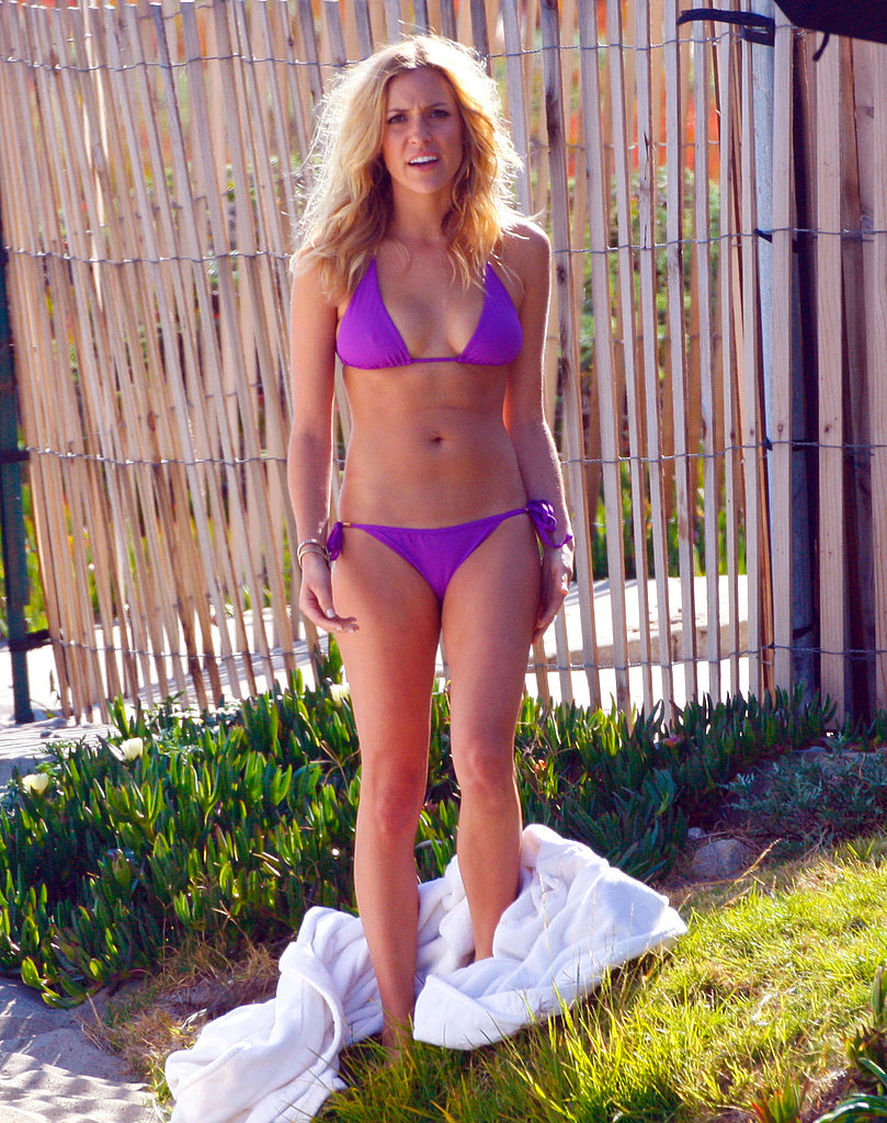 Kristin Cavallari Looks at Home in Her Bikini During a Malibu Photo Shoot