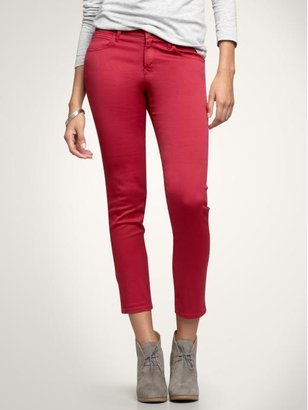 The perfect pop of color.  Gap Cropped Jeans ($30, originally $60)