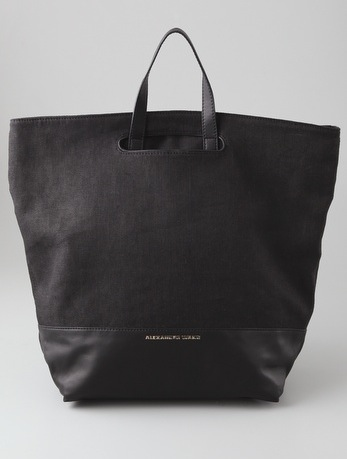 The ultimate carryall. Alexander Wang Alpha Tote ($245, originally $350)