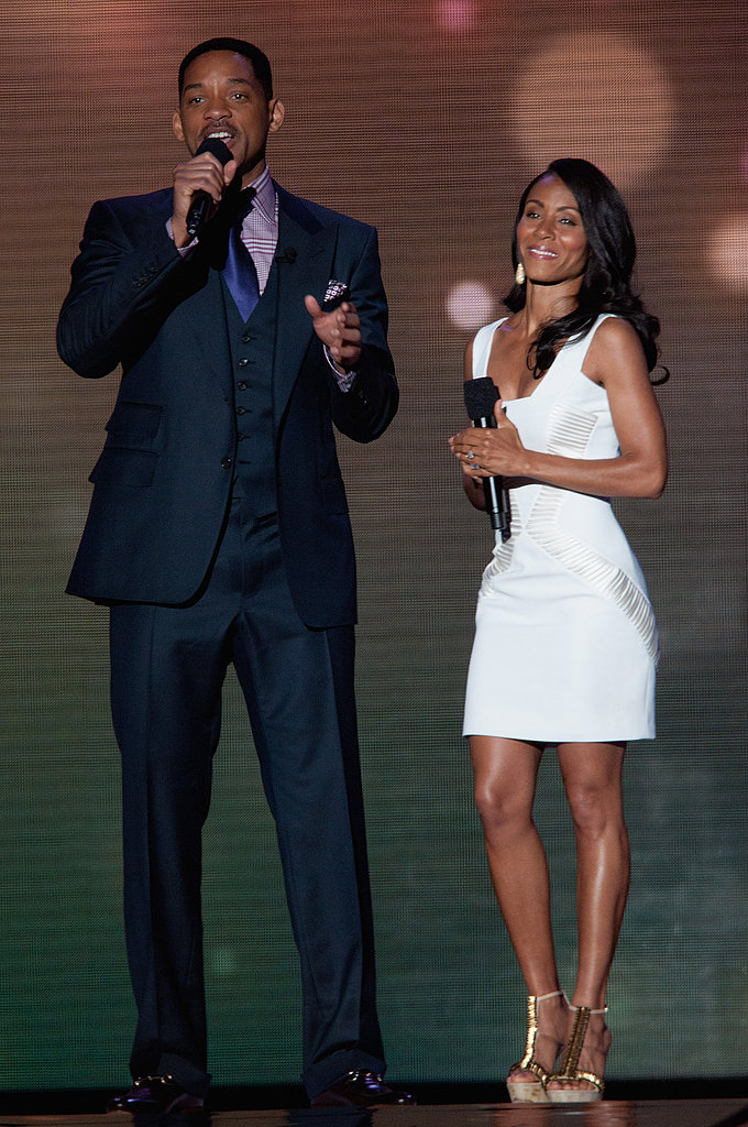 Will Smith and Jada Pinkett Smith | Height Difference Hall ...