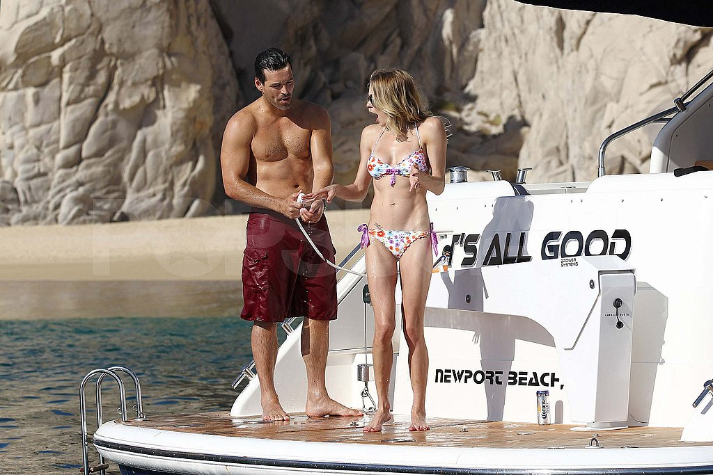 LeAnn Rimes and Eddie Cibrian Keep the Bikini and Shirtless PDA Fun Coming in Mexico