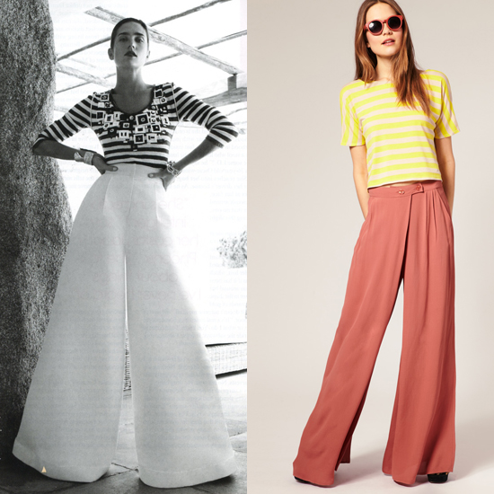 Spring's Surprising Pants Trend: Palazzo Pants