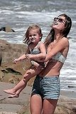 Bikini-Clad Alessandra Ambrosio Hits the Beach With Her Family