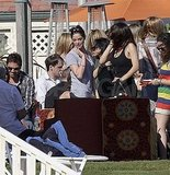 Ashley Greene Fills Up on Fun at a BBQ For Memorial Day