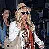 Pictures of Jessica Simpson at LAX