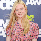 Elle Fanning in Dolce & Gabbana at 2011 MTV Movie Awards