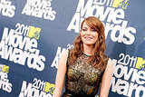 Emma Stone Brings Her Red Hair and Big Smile For MTV Movie Awards