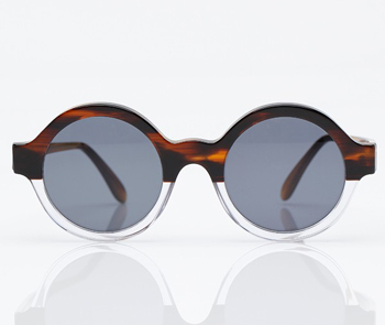 Frieda Half-Tortoise Half-Clear Sunglasses Need Supply, $210