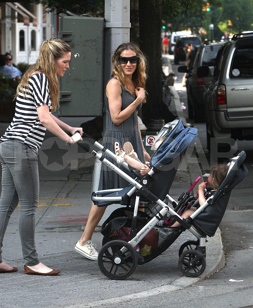 Sarah Jessica Parker Eases Into Summer in the City With Marion and Tabitha