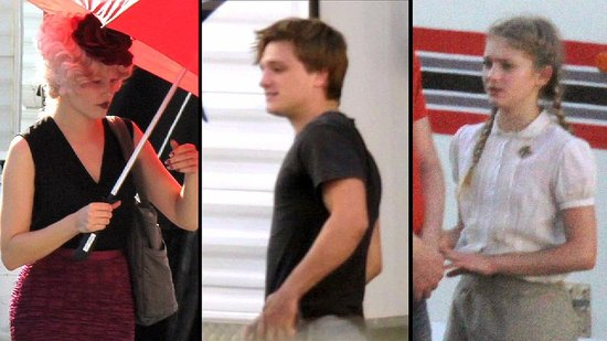 A Blonder Josh Hutcherson Emerges as Peeta on The Hunger Games Set!