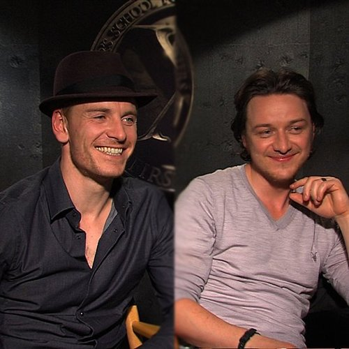 Michael Fassbender Video With James McAvoy Talking X-Men: First Class