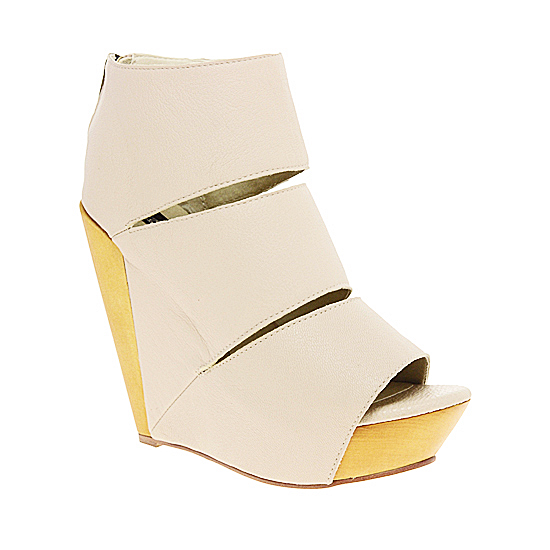 Messeca Coraline Sliced Wedge, Asos, $314