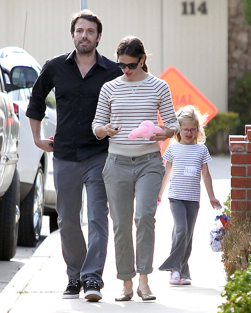 Ben Affleck and Jennifer Garner Get in the Mood to Party With Violet