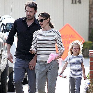 Ben Affleck and Jennifer Garner Pictures With Violet Affleck