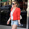 Hilary Duff Shopping at Neiman Marcus in Beverly Hills