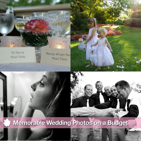 How-To: Get Memorable Wedding Photos on a Budget