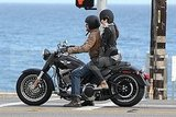 Jessica Biel Hitches a Ride on the Back of Her Rumored Love Interest Gerard Butler's Motorcycle!
