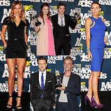 Blake, Cameron, Jason, and the Twilight Gang Celebrate in the Movie Awards Press Room
