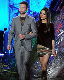 Justin Timberlake Gets Familiar With Mila Kunis's Anatomy on Stage During the MTV Movie Awards